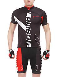 CM1309/TM1309 poliamida e elastano Três Tecido emenda Suits Ciclismo High-Tech