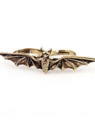 Fashion Alloy Bat Shaped Ring der Frauen
