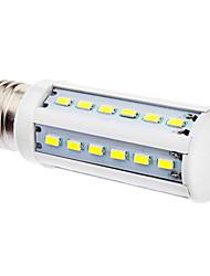 E27 5W 36x5630SMD 400-450LM 5500-6500K Natural White Light LED Corn Bulb (220-240V)