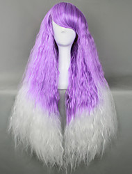 Blended Lavender and White Punk Lolita Wig