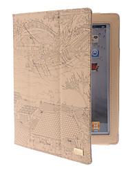 Chino famoso Pintura antigua Riverside Diseño Escena de caso completo de cuerpo con soporte para iPad 2/3/4 (colores surtidos)