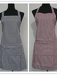As per picture Linen / Cotton Blend Aprons