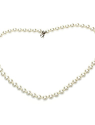 Necklace Chain Necklaces / Pearl Necklace Jewelry Daily Fashion Pearl White 1pc Gift