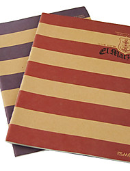 Navy Stripe Series Notebook (couleurs aléatoires)