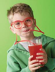 Fun Glasses Modeling Children Straw