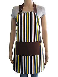 Cute Fashion Grembiule della tela di canapa a righe
