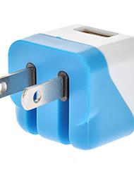USB 2.0 femelle US Adaptateur secteur blanc et bleu