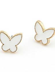 Beautiful Alloy Butterfly Shaped Women's Earrings(More Colors)
