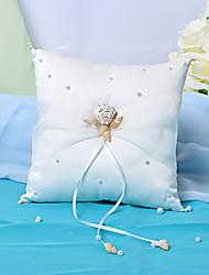 Pterry кольцо подушки с подлинными Seashell