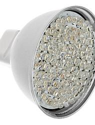 MR16 5W 81-LED 400-450LM 3000-3500K Warm White LED Light Bulb Pontual (12V)