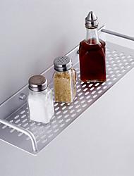 "Badezimmer Regal Aluminium Wandmontage 400 x 120 x 50mm (15.7 x 4.7 x 2"") Aluminium Modern"