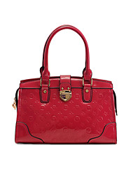 LEKENE Embossing Leather Tote