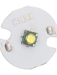 5W 400LM 6500K Banc froid LED Cree module émetteur (3.2-3.6V)