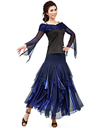 Dancewear Viscose With Tulle Modern Dance Outfits for Ladies(More Colors)