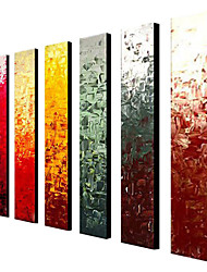 Hand-Painted Abstract Classic Traditional Oil Painting More than Five Panels