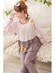 Casual Ruffle Gray Lounge Wear
