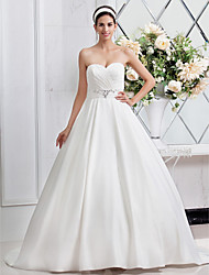 Lanting Bride® A-line / Princess Pear / Rectangle / Plus Sizes / Petite / Misses / Apple / Hourglass / Inverted Triangle Wedding Dress -