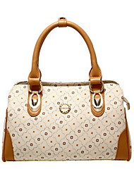 PMSIX Women Sparking Star Print Pu Handbag