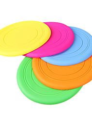 disco suave gel de sílice volador para perros (color al azar)