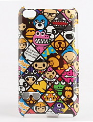 Lovely Cartoon Design Protective Back Case for iTouch4