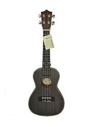 hanknn - ukulele concerto in palissandro con gig bag / string / proposte / cinghia