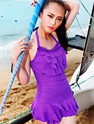 One Piece Swimsuit Spa Praia Swim vestido das mulheres