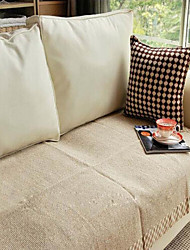 Cotton Coffee Linen Hemming Sofa Cushion 70*240