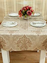 Kunstleder Floral Light Coffee Table Cloth