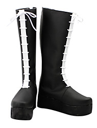 Colonnello Blace Lace-up Anime Cosplay Boots