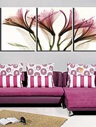 Stretched Canvas Art Floral Lightweight Flower Set of 3