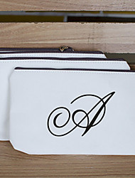 Gift Groomsman Personalized Initial Money Bag