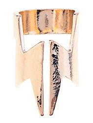 estilo lureme®punk liga relâmpago anel aberto (cores sortidas)