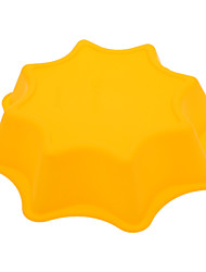 Six Water Chestnut Shaped Silicone Cake Pizza Mould
