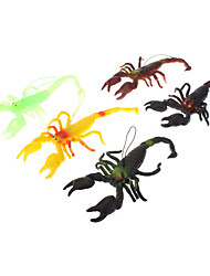 Scorpion Shaped Soft Rubber Toy(Random Color)