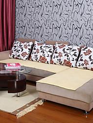 хлопок желтый диван подушки 70 * 210