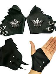 Phantomhive Noble Family Symbool PU lederen Cosplay Handschoenen