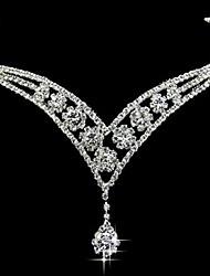 Nuptiale Alloy Front bijoux de mariage / Casques pour occasions spéciales
