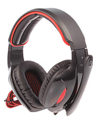 SADES SA-902 USB2.0 7.1 Sound Effect Over-Ear Gaming Headphone with Mic and Remote for PC