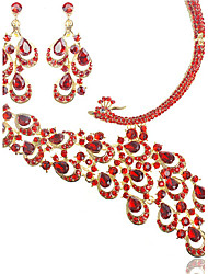 Jewelry Set Women's Anniversary / Wedding / Engagement / Birthday / Gift / Party / Special Occasion Jewelry Sets Alloy Rhinestone