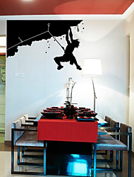 Alpinisme Wall Sticker Man