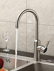 Sprinkle® Sink Faucets  ,  Contemporary  with  Brushed Single Handle One Hole  ,  Feature  for Centerset