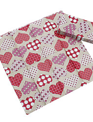 Hearts Guest Towels (Set of 5 Packs)