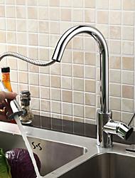 Sprinkle® von lightinthebox - massivem Messing unten Küchenarmatur ziehen - verchromt