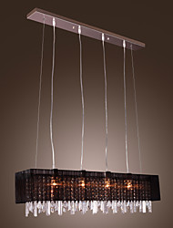 Pendant Light ,  Modern/Contemporary Island Others Feature for Crystal Metal Dining Room