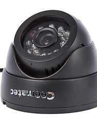 Coomatec DVRCam CCTV SD Card DVR Dome Camera (1/4 Inch CMOS ,AV-OUT)