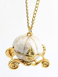 Мода сплава с ожерельем Тыква Тренер Shaped женщин шкентеля