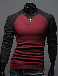 Вино RR ПОКУПАТЬ Человека Мода шею футболка с длинным рукавом