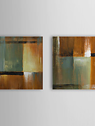 Hand Painted Oil Painting Abstract with Stretched Frame Set of 2 1308-AB0722