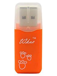 Mini Micro SD/HC USB Memory Card Reader W201