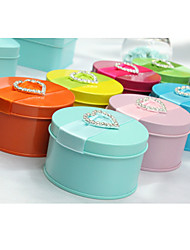 6 Piece/Set Favor Holder - Cylinder Favor Tins and Pails/Favor Boxes Non-personalised